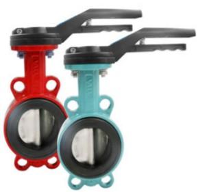 Дисковый затвор Ду 50-600 типа, для агрессивных сред PN10, корпус — Углеродистая сталь, диск — нержавеющая сталь, уплотнение — PTFE. Рабочая температура -30ºС — +180ºС